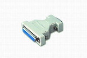CONNECTOR VAN 9P MALE NAAR 25P FEMALE