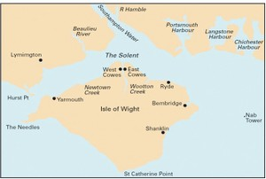 Imray C3 - Isle of Wight  -   1:52,500 WGS 84