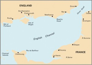 Imray C12 - Eastern English Channel.  -  1:300,000 WGS84