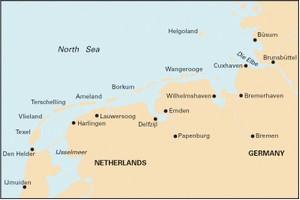 Imray C26 - IJmuiden to Die Elbe.  -