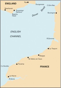 Imray C31 - Dover Strait to Le Havre  -  1:200,000 WGS 84