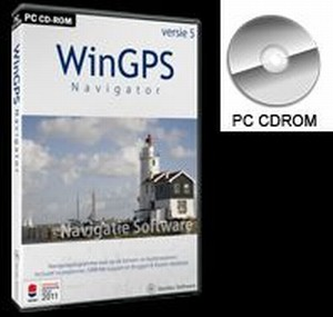 WinGPS 5 Navigator - download - DVD / USB =optioneel