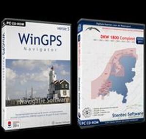 WinGPS 5 Navigator + DKW1800 + GPS - opt. op USB/DVD
