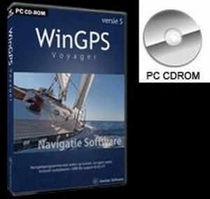 WinGPS 5 Voyager - download - optioneel op USB/DVD