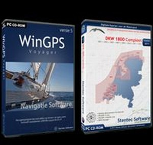 WinGPS 5 Voyager + DKW1800 - optioneel op USB/DVD