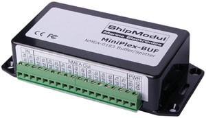 Miniplex-BUF NMEA Buffer met 1 ingang en 7 uitgangen