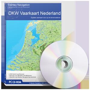 VAARKAART NEDERLAND COMPLEET DKW - nieuwste 2018