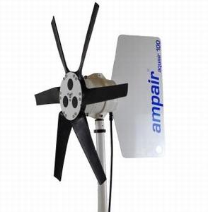 100 Watt 12V Windgenerator - al 30 jaar op alle wereldzeeën