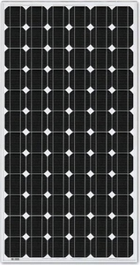 SolarPanell 100 Wp 36 cels monokristallijn - 1210 x 545 x 35