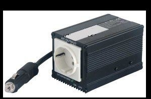 150 W adapter die 230 V (AC) levert vanuit de 12 V accu