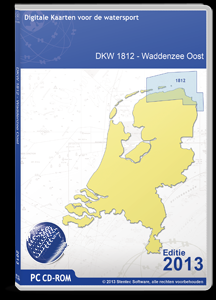 DKW 1812 Waddenzee Oost - downloadversie - 2017