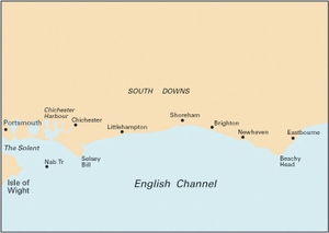 Imray C9 - Beachy Head to Isle of Wight