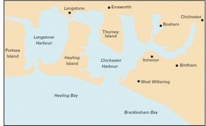 Imray Y33 - Langstone and Chichester Harbours