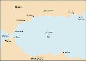 Imray M11 - Gibraltar to Cabo de Gata & Morocco