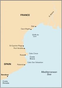 Imray M14 - Barcelona to Bouches du Rhône - 1:440,000 WGS 84