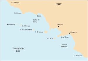 Imray M18 - Capo d'Anzio to Capo Palinuro - 1:325,000 WGS 84