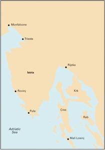 Imray M24 - Golfo di Trieste to Losinj & Rab