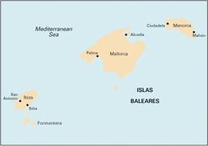 Imray M3 - Islas Baleares - 1:350,000 WGS 84