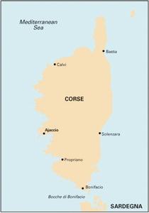 Imray M6 - Île de Corse - 1:255,000