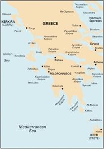 Imray G1 - Mainland Greece and the Peloponnísos