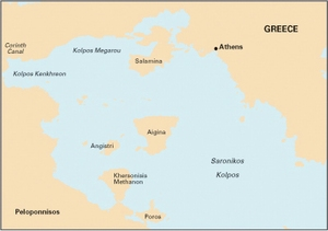 Imray G141 - Saronikos Kólpos - 1:110,000 WGS 84