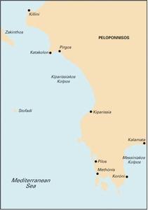 Imray G16 - Western Pelopónnisos - 1:190,000
