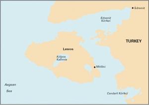 Imray G27 - Nísos Lésvos & the Coast of Turkey