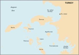 Imray G32-Eastern Sporades,Dodecanese & the Coast of Turkey