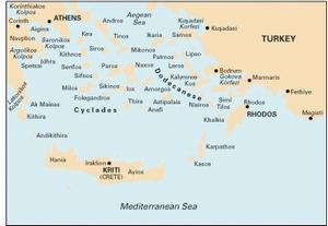 Imray G3 - Aegean Sea (South) - 1:750,000 WGS 84