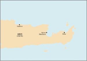 Imray G38 - Nísos Kríti (East) - 1:190,000 WGS 84