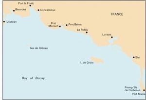Imray C38 - Anse de Bénodet to Presqu'île de Quiberon