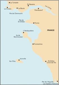 Imray C40 - Le Croisic to Les Sables d'Olonne