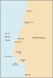 Imray C49 - Ria de Aveiro to Sines - 1:350,000 WGS84