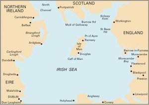 Imray C62 - Irish Sea - 1:280,000 WGS 84