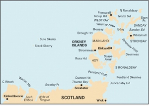 Imray C68 - Cape Wrath to Wick and the Orkney Islands