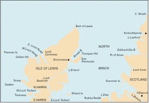 Imray C67 - North Minch & Isle of Lewis - 1:155,000 WGS 84