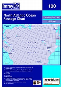 Imray 100 - Atlantic Ocean Passage Chart-1:7,620,000 WGS 84