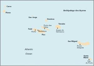 Imray E1 - Arquipelago dos Açores - 1:750 000 WGS 84
