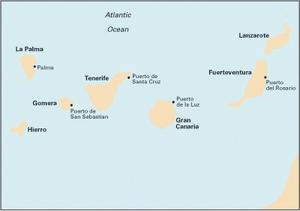 Imray E2 - Islas Canarias - 1:600,000 WGS 84