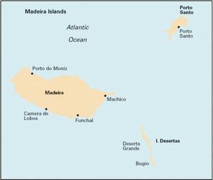 Imray E3 - Madeira - 1:170,000 WGS 84