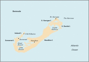 Imray E5 - Bermuda - 1:60,000 WGS 84