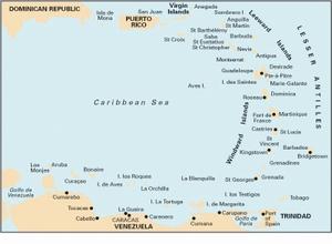 Imray 1 - Eastern Caribbean General Chart-1:1 800 000 WGS 84