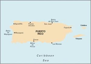 Imray A1 - Puerto Rico - 1:285,000