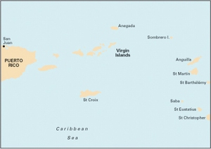 Imray A2 - Puerto Rico to the Virgin and Leeward Islands