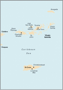 Imray A23 - Virgin Islands and St Croix