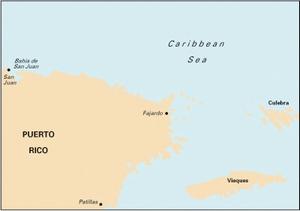 Imray A14 - San Juan to Isla de Vieques & Isla de Culebra