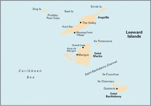 Imray A24 - Anguilla, St Martin and St Barthélémy