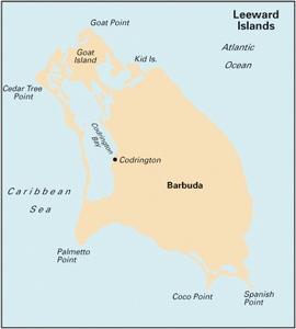 Imray A26 - Barbuda - 1:45,000 WGS 84