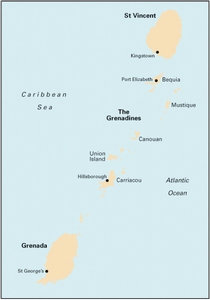 Imray B3 - The Grenadines - 1:200,000 WGS 84