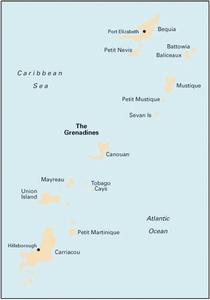 Imray B31 - Bequia to Carriacou - 1:90,000 WGS 84